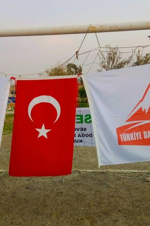 TDF EFES-MİMAS YOLU YÜRÜYÜŞÜ